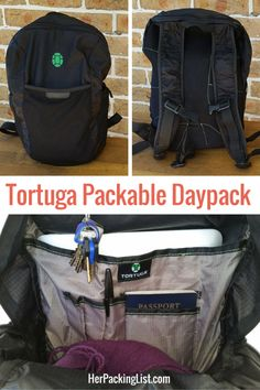 0dce784490f This Tortuga Packable Daypack Review introduces you to a new stuffable,  packable bag on the