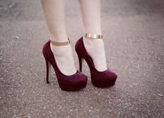ankle cuffs calçados femininos