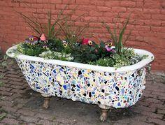 Диван-софа из старой ванны: home_and_garden