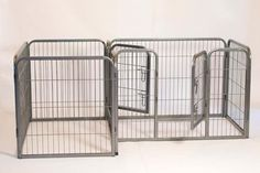 Heavy Duty Double Divided Tube Pet Playpen for Dogs