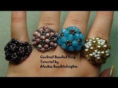 Friend me on Facebook and show me what you have made: https://www.facebook.com/aleshia.beadifulnights#!/aleshia.beadifulnights Materials needed: 3 1/2 FT. of 8lb. or 10lb. monofilament fishing line 11/0 seed beads in two colors 21-beads they can be either bicones or rounds in sizes like: 3mm,4mm,5mm,6mm or 6/0 seedbeads