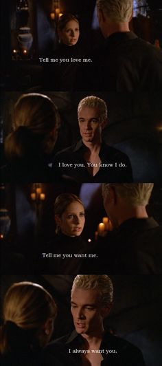 BTVS That low sexy timbre his voice. Spike = sexiest television character ever.