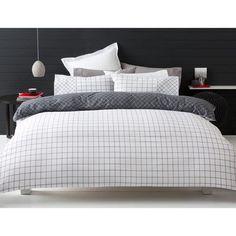 Trent Quilt Cover Set - Queen Bed
