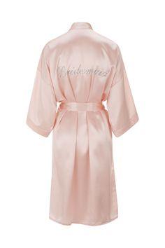 b5462f15c3 BLUSH SILK BRIDESMAID ROBE  BLUSH SILK BRIDESMAID ROBE  - £120.00   Bridal  Underwear