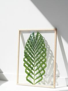 DIY-Leaf-Art  I love this. It's very Scandinavian design-ish, kinda how I want to style my home. In the meantime, it is a way to add plant life to my room since I'm currently a minimalist nomad/college student who can't have a huge plant collection.
