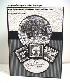 Thank You Bud by Julie Gearinger - Cards and Paper Crafts at Splitcoaststampers