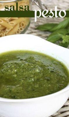 Aprende a hacer una deliciosa salsa pesto casera.