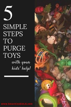 5 simple steps for purging toys WITH your kids' help! Declutter toys and get… Play Based Learning, Learning Activities, Parenting Advice, Kids And Parenting, Konmari Method, Toy Organization, Getting Organized, Playroom, Kids Toys