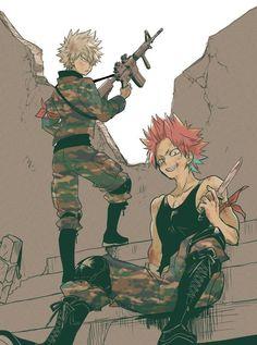 My Hero Academia - Bakugou & Kirishima Boku No Hero Academia, My Hero Academia Memes, Hero Academia Characters, My Hero Academia Manga, Anime Characters, Anime Guys, Manga Anime, Anime Art, Me Me Me Anime