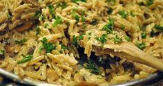 Vegan Mushroom Orzotto and other vegan recipes Vegan Foods, Vegan Dishes, Pasta Recipes, Cooking Recipes, Cookbook Recipes, Vegetarian Recipes, Healthy Recipes, Delicious Recipes, Greek Recipes