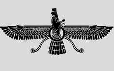 Farvahar - The Faravahar, or better known in Persian as fravahr, is one of the best-known symbols of Zoroastrianism, the state religion of ancient Iran (Persia).[citation needed] This religious-cultural symbol was adapted by the Pahlavi dynasty to represent the Iranian nation.