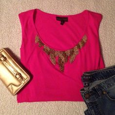 """Cute Dressy Tank lowest price This was worn once. Really comfy and cute! 25"""" long  24"""" wide Dana Buchman Tops Tank Tops"""