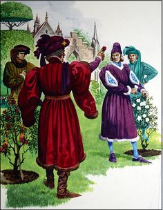 Uk History, History Images, Tudor History, British History, Margaret Of Anjou, Larp, Temple Gardens, Late Middle Ages, Wars Of The Roses