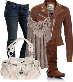 Great casual day outfit.