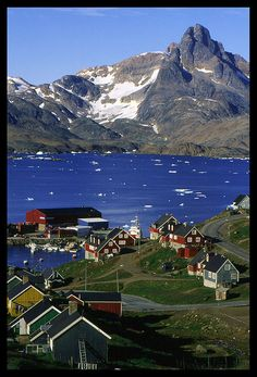 Tasiilaq, Greenland:  While Tasiilaq, Greenland might seem like a small town with just over 2100 people, it's actually one of the largest towns in Greenland!  Popular activities in Tasiilaq, Greenland are sledding, hiking and iceberg watching tours.  Be sure to also check out Flower Valley.  Tasiilaq is very simple in terms of the homes residing there, but it's still a beautiful place nonetheless.  Top hotel: Angmagssalik Hotel.