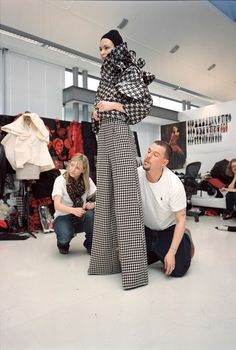 Nick Waplington/Alexander McQueen: Working Process photography exhibition — That's Not My Age Philip Treacy, Vogue Uk, Alexander Mcqueen Book, Givenchy, Intimate Photos, Latest Fashion Design, Fashion Designers, Photography Exhibition, Donatella Versace
