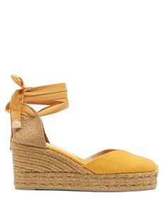 Click here to buy Castañer Chiara canvas wedge espadrilles at MATCHESFASHION.COM