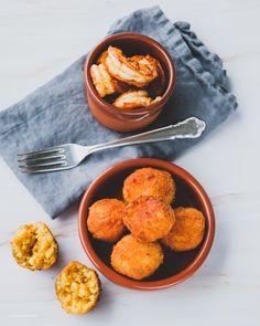 Arancini og chilireker Arancini, Aioli, Risotto, Ethnic Recipes, Food, Hoods, Meals