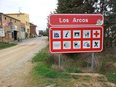 Los Acros, Camino de Santiago de Compostella