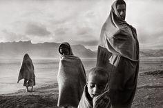 "flashofgod: "" Sebastião Salgado, Sahel - Refugees in the Korem refugee camp, Ethiopia, 1984. """