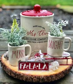 : Target Mrs Claus Cookie Co Canister Gingerbread Christmas Decor, Cabin Christmas, Homemade Christmas Decorations, Woodland Christmas, Christmas Gift Box, Farmhouse Christmas Decor, Christmas Kitchen, Pink Christmas, Rustic Christmas