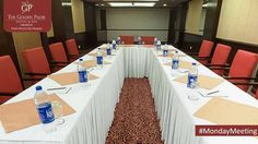 Experience subtle sophistication and inspiring ambience during your meetings and conferences at The Golden Palms Hotel & Spa, Zirakpur.