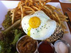 Breakfast at Olivia (Austin, TX). #UniqueEats #eggs #breakfast