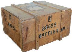 Oude houten kist - oude kisten en vintage koffers bestel je online bij vonliving.nl! -vonliving.nl