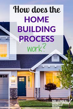 The home building process can be super complicated! This is a great article for learning how to get through it with less stress.