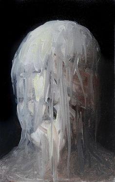 jOSEBA ESKUBI. Hipnosia.ST, 2013. Óleo sobre lienzo. 22x16 cm