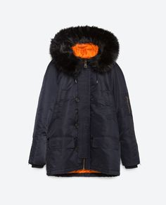 Image 11 of QUILTED PARKA from Zara