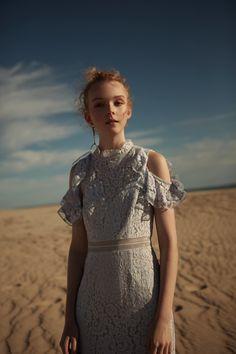Discovery; Keepsake The Label Editorial // Oblivion Midi Dress- Pale Blue