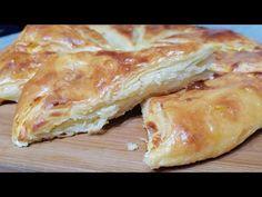 Jede vam se pita od domaćih kora, iste ne umete da razvučete, evo načina kako do pite! - YouTube Bread Dough Recipe, Spanakopita, Scones, Quiche, Favorite Recipes, Cookies, Ethnic Recipes, Food, Cherry Cake