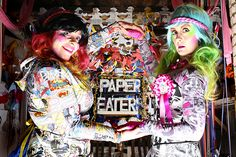Aruta gets interactive at the Paper Eaters collaboration at Selfridges