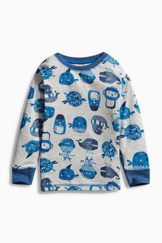 Buy Multi Octopus Pyjamas Two Pack (9mths-8yrs) from the Next UK online shop