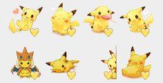 Pikachu Stickers Set | Telegram Stickers