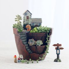 Home Resin Succulent Planter Flower Pot Garden Herb Trough Box Basket Exquisite Flower Pots Planters Herb Planters, Succulent Pots, Flower Planters, Hanging Succulents, Succulents Garden, Planting Flowers, Planter Pots, Cactus Flower, Garden Troughs