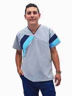 Scrubs Uniform, Men In Uniform, Medical Scrubs, Nurse Scrubs, Corporate Uniforms, Nurse Costume, Cut Shirts, Casual Wear, Nurse Uniforms