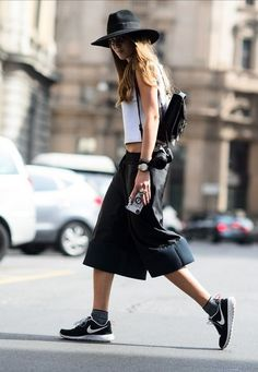 Chic and sporty.