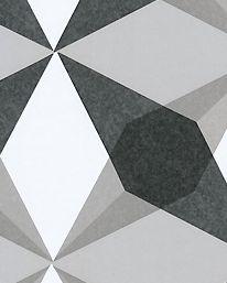 Tapet Cube Star Mono från Jocelyn Warner