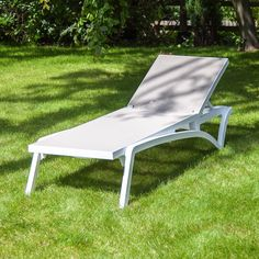 Pacific Poly-Resin and Textoline Sun Lounger - Sun Loungers - Garden Furniture