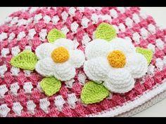 Маленький пышный цветочек крючком / Small crochet flower - YouTube