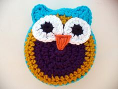 PENNY the Crocheted Owl by ACCrochet on Etsy, $15.00