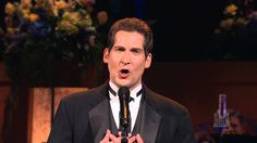 """Dallyn Bayles sings """"Bring Him Home"""" with the Mormon Tabernacle Choir - magnificent.    More LDS Gems at:  www.MormonLink.com"""