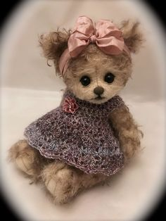 'Pixie' OOAK Artist mohair Bear by The Creative Tedd 99p Start No Reserve :) :) | Dolls & Bears, Bears, Artist | eBay!