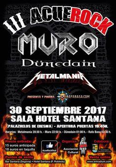 III ACUEROCK en Segovia el 30 de septiembre: MURO, DUNEDAIN, etc. Detalles, entradas, horarios, etc | WWW.RAFABASA.COM - Noticias en español sobre el heavy metal y los grupos de heavy metal.