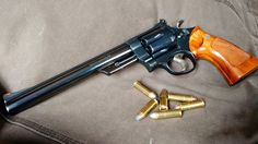 """weaponslover: """" S&W 8 - The """"Dirty Harry"""" gun """" Smith And Wesson Revolvers, Smith N Wesson, Weapons Guns, Guns And Ammo, M4 Carbine, Female Cop, Asgard, Revolver Pistol, Hunting Guns"""