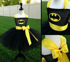 Ready to Ship Batman Tutu by JustaLittleSassShop Batman Tutu, Batman Girl, Batman Costumes, Tutu Costumes, Halloween Costumes For Girls, Batman Birthday, Batman Party, Superhero Party, Tutu Diy