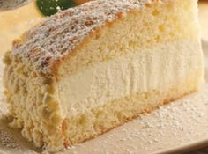 Olive Garden's Lemon Cream Cake WHAT!?! I had no idea this even existed.  Olive Garden here I come!