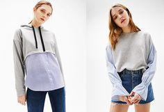 Mikina nebo košile? Což takhle spojit obojí dohromady? Na foto: oboje Bershka, 549 Kč; archiv firmy Sling Backpack, Drawstring Backpack, Backpacks, Bags, Fashion, Handbags, Moda, Fashion Styles, Backpack